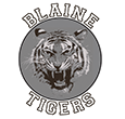Blaine Tigers logo